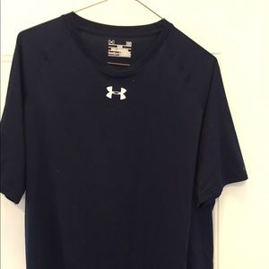 Under Armour heat gear size large blue